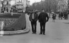 Одесса, на Дерибасовской улице. Фотограф Анатолий Моисеевич Сирота. 1963 г.