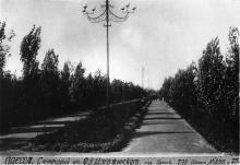Одесса, аллея санатория им. Дзержинского, 2-я территория (будущая Межрейсовая база моряков)