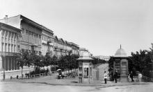 Приморский бульвар, фотограф Жюль Рауль, 1878 г.