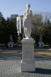 Санаторий «Одесса». Фото В. Тенякова. 03 декабря 2015 г.