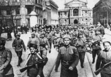 Одесса, ул. Ленина. Фотограф Георгий Зельма, 1944 г.