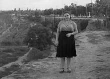 Одесса, на 13-й станции Большого Фонтана, конец 1950-х годов