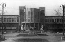 Первый корпус санатория им. Дзержинского после оккупации. Одесса. 1944-1945 годы
