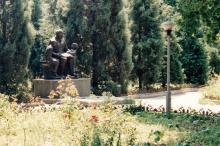 Памятник В.И. Ленину на территории санатория «Одесса»
