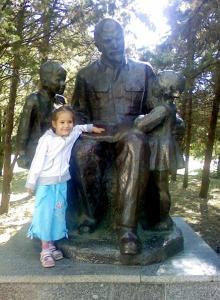 Памятник В.И. Ленину на территории санатория «Одесса». 2010 г.