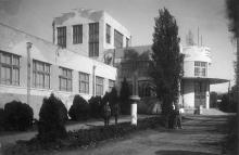 Водогрязелечебница санатория им. Ф.Э. Дзержинского. Одесса. 1939 г.