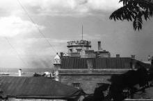 Башня Шахского дворца. Одесса, начало 1960-х годов