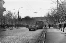 На Дерибасовской улице. Фотограф Мирослав Рак. Одесса, 1965 г.