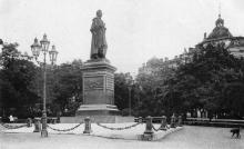 Одесса. Памятник Воронцову на Соборной площади