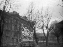 Скульптура «Лаокоон». Одесса, начало 1950-х годов