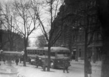Садовая улица, вид с площади Советской Армии. Одесса, начало 1950-х годов