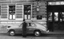 Гостиница «Одесса» на Приморском бульваре. Одесса, начало 1950-х годов