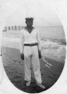На пляже в Люстдорфе. Одесса. 1934 г.