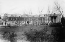 Здание столовой санатория им. Дзержинского. Одесса. 1944 г.