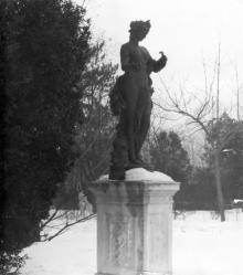 Скульптура на территории санатория им. Дзержинского. Одесса. 1970-е годы