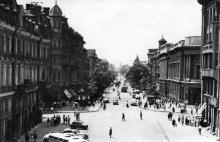Вулиця Леніна. Фото А. Підберьозького. Комплект мініфотографій «Одеса», 1968 р.