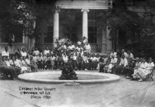 Одесса. В доме отдыха № 4. 1936 г.