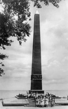 Одесса. Памятник Неизвестному матросу. Фото О. Малаховского. Почтовая карточка. 1962 г.