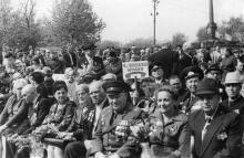 Одесса. В парке им. Т.Г. Шевченко. 9 мая 1983 г.