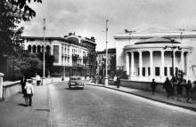 Одеса. Сабанєєв міст. Музична школа ім. Столярського