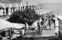 Одесса. Турбаза. Фотограф Ф. Гурлич. Почтовая карточка. 1962 г.