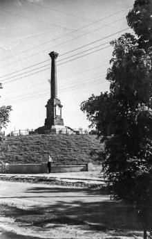 Одесса, возле Александровской колонны, 1930-е годы