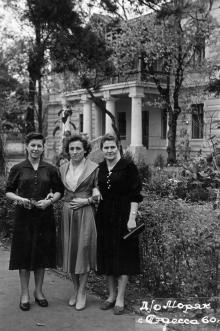 Дом отдыха «Моряк». Одесса. 1960 г.