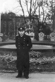 Одесса. В городском саду. 1950 г.