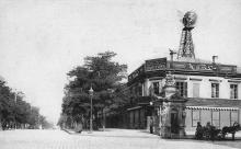 Одесса. Дерибасовская улица, угол Ришельевской. Открытое письмо. Фототипия Отто Ренар