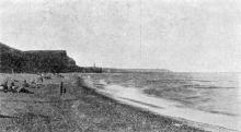 Одеса. Дитячий Курорт «Люстдорф». Пляж. Поштова картка