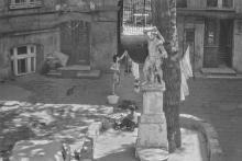 Одесса. Во дворе дома №3 по ул. Красного гвардии. Фотограф Илья Гершберг