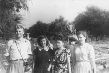 Одесса. Памятник Сталину на площади Советской Армии. 25 октября 1952 г.