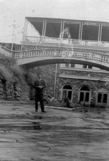 Ресторан «Грот», в будущем «Ласточка», «Хуторок» на Ланжероне. Одесса, 1960-е годы