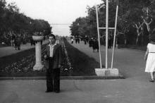 Одесса. В парке им. Т.Г. Шевченко. 1950-е годы