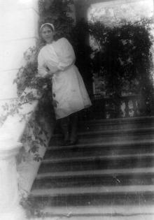 В санатории им. Чкалова. 1950 г.