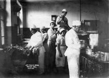 Кухня дома отдыха ЦК ЖД. Одесса. 1936 г.