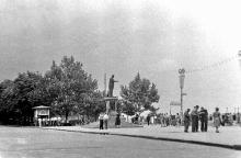 Одесса. На Приморском бульваре. 1962 г.