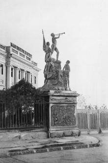 Одесса. Дворец Пионеров и Октябрят. Почтовая карточка