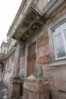 Одесса, ул. Гоголя, 17, здание школы. Фото Вячеслава Тенякова.28 января 2016 г.