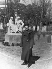 Одесса. В городском саду. 1949 г.