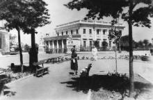 Одеса. Палац піонерів. Фото Б. Левіта. Поштова картка. 1939 р.