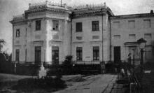 Бывший дом губернатора Одессы, в настоящее время музей, 1927 г.