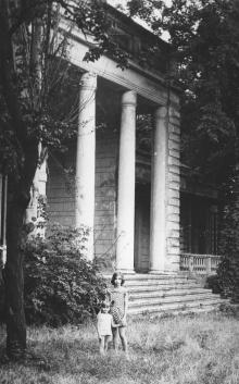 Спальный корпус дома отдыха «Маяк», 2-я территория. Фото Виктора Корченова, 1979 г.