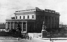 Одеса. Палац піонерів та жовтенят. Фото Н. Боде. Поштова картка. 1938 р.