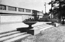 «Зеленый театр. Вход», фото из альбома «Архитектура парков СССР», 1940 г.
