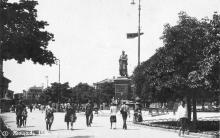 Площадь 10-летия Кр. Армии. Одесса. Почтовая карточка. Начало 1930-х гг.