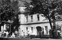 Будинок, в якому жив О.С. Пушкін. Фото Я. Таборовського. Поштова картка. 1962 р.