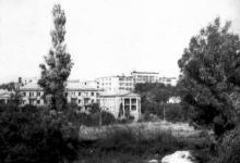Одесса. Пансионат ветеранов цирка. Фото Владимира Маневича. 1968 г.