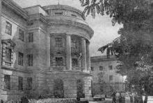 Новый учебный корпус электротехнического института связи.  Фото в справочнике «Одесса», 1957 г.