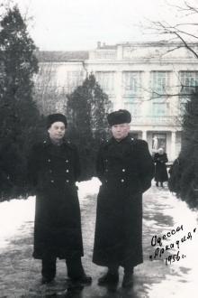 На территории санатория «Россия». Одесса. 4 сентября 1964 г.